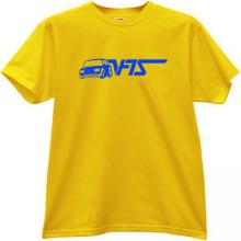 New LADA VFTS Autosport T-shirt in yellow