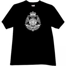 VICTORIA POLICE T-shirt in black
