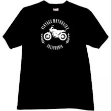 Vintage Motorbikes California T-shirt in black