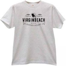 Virgin Beach - Tropical Paradise T-shirt