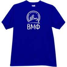 VMF Russian Hockey Club T-shirt in blue
