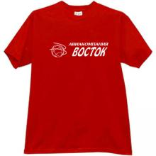 Vostok Aviation Company T-shirt in red