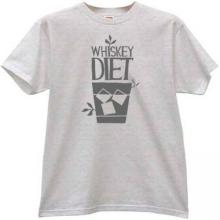Whiskey Diet Funny T-shirt