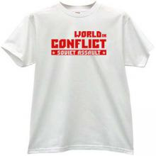 World in Conflict - soviet assault Cool T-shirt in white