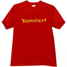 Yahooeyu! Funny Russian T-shirt in red