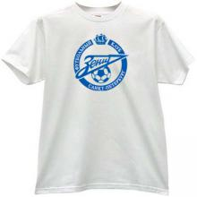 Zenit Saint Petersburg Football Club Logo T-shirt